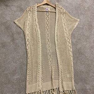 francesca's knit cardigan